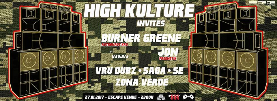 High Kulture Invites Burner Greene and Jon