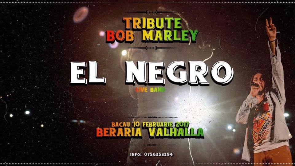 Concert El Negro Live Band Bacau