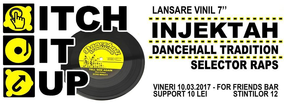 Itch It Up - Lansare Vinil DT 7002