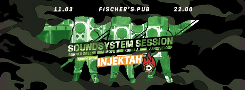 SoundSystem Session - Injektah, Astronaut Kru